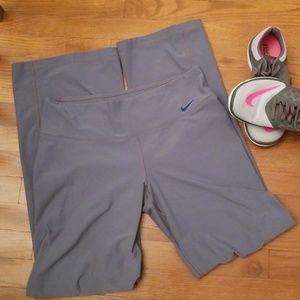 Nike Grey Dri-Fit Sample Size Yoga Pants
